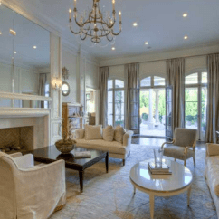 Veranda Living Rooms Room Wall Design Pictures $4.9 Million French Inspired Mansion In Atlanta, Ga With ...