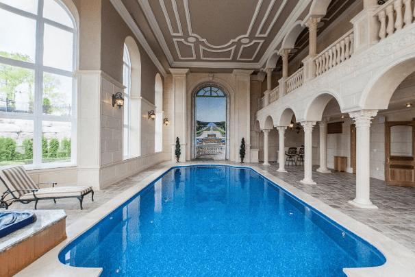 Stately  Ornate 24000 Square Foot Mega Mansion In Canada