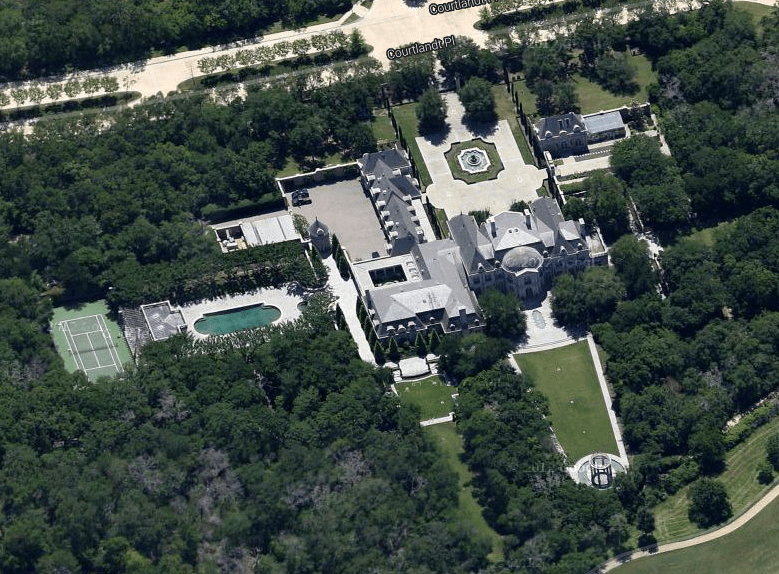 Businessman Don Adams Texas Mega Mansion  Homes of the Rich