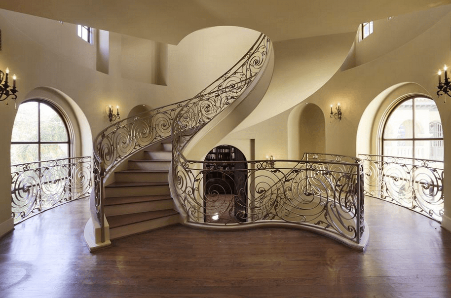 10000 Square Foot Mediterranean Mansion In Houston TX  Homes of the Rich