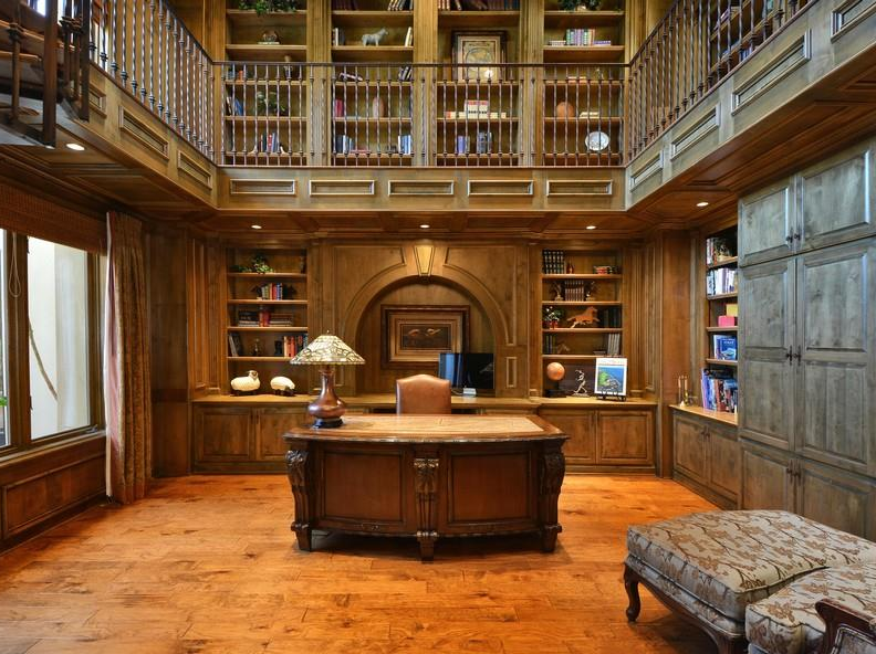 Two Austin TX Mansions With 2Story Libraries  Homes of
