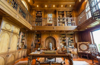 Two Austin, TX Mansions With 2-Story Libraries | Homes of ...