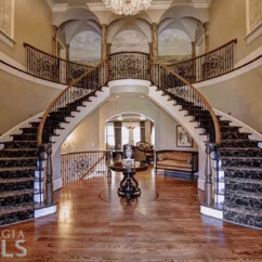 Formal Living Room With Brick Fireplace Drawers 12,000 Square Foot Newly Listed & Stone Mansion In ...
