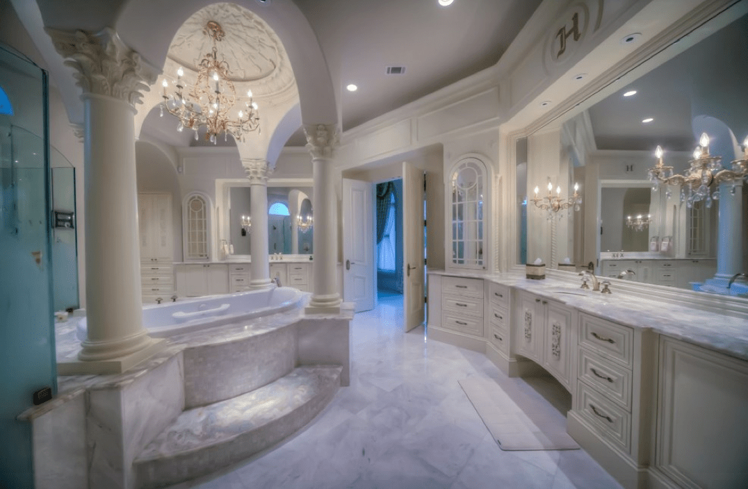 Mediterranean Mansion In Houston TX With AMAZING Foyer