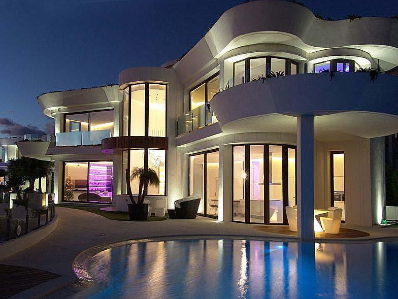 55 Million Modern Waterfront Home In Spain  Homes of