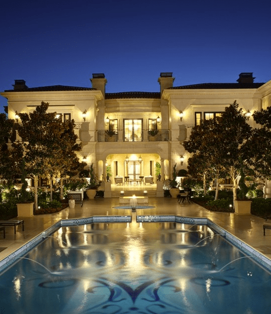 Spectacular Limestone Mansion In Los Angeles CA  Homes
