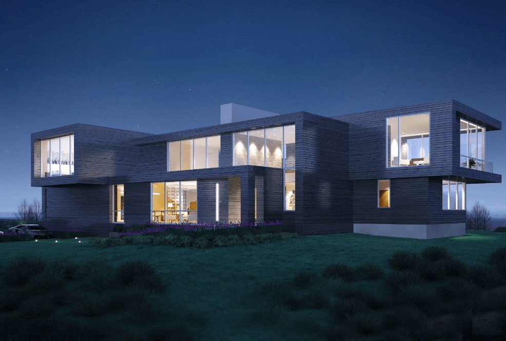 27 95 Million Modern Mansion To Be Built In Southampton