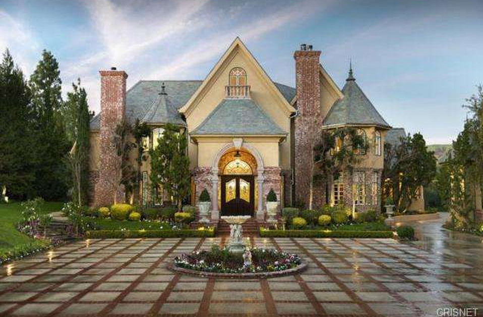 3 995 Million French Normandy Estate In Chatsworth Ca
