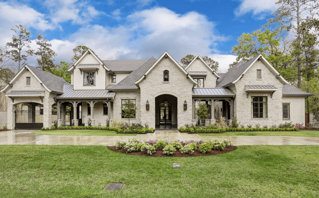$45 Million Newly Built French Country Home In Houston