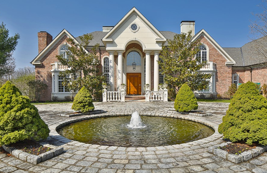 35 Million Brick Mansion In Princeton NJ  Homes of the