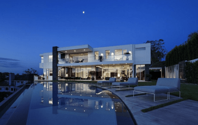 $27.5 Million Newly Built Modern Mansion In Los Angeles ...