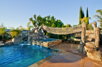 20 Awesome Swimming Pools With Water Slides | Homes of the ...