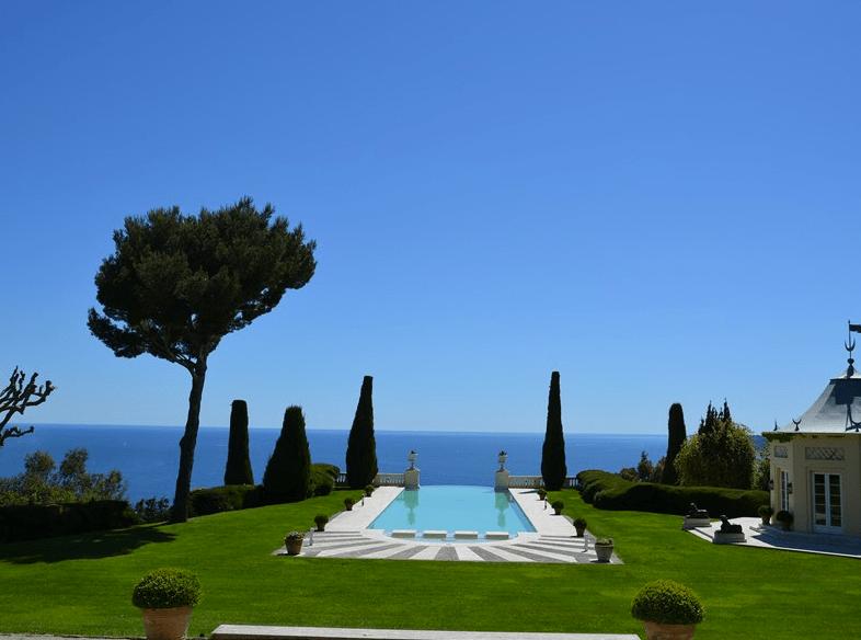 La Croix des Gardes  A Historic Castle In Cannes France