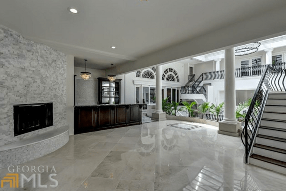 29 Million Mansion In Atlanta GA With 2Story Indoor