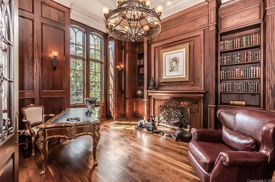 11000 Square Foot Old World Stone  Brick Mansion In