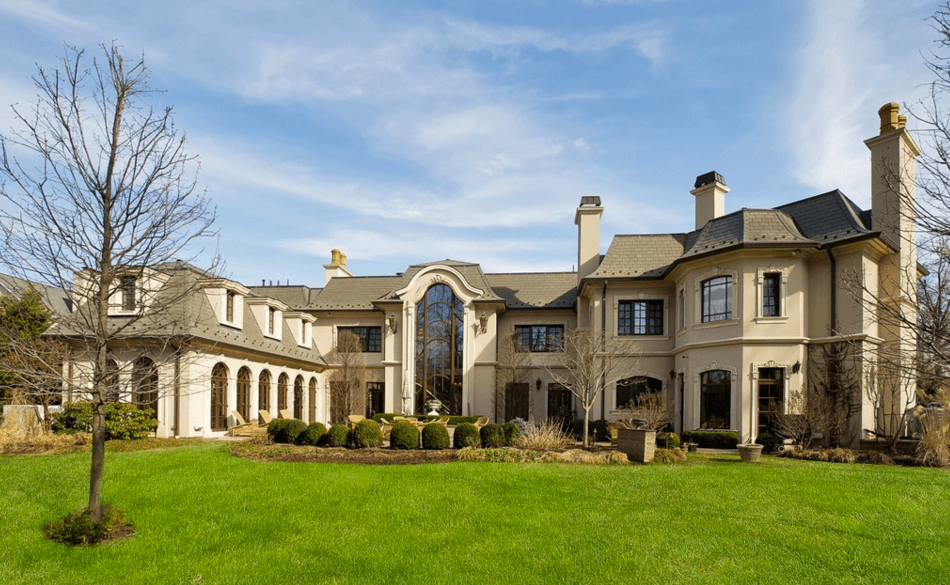 885 Million Newly Built French Inspired Mansion In Englewood Cliffs NJ  Homes of the Rich