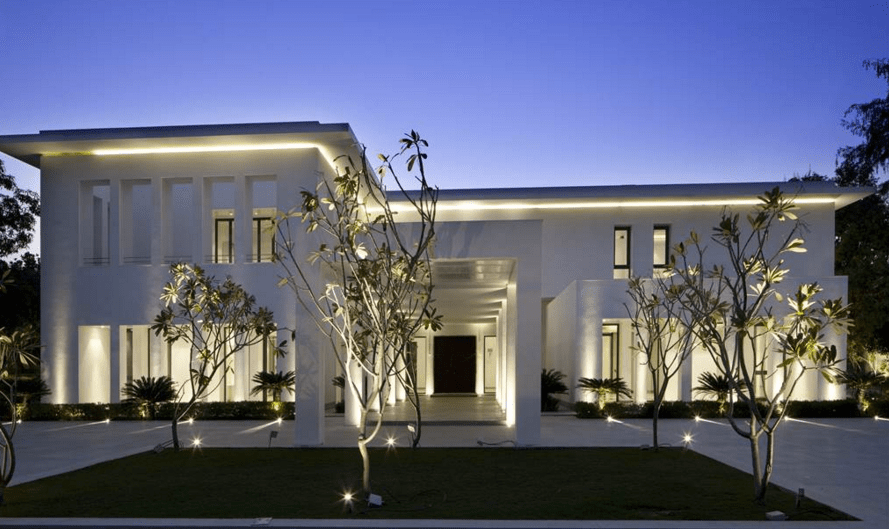 17000 Square Foot Modern Mansion In New Delhi India Homes Of The Rich
