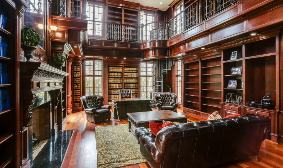 13 000 Square Foot Stone Mansion In Orchard Park Ny
