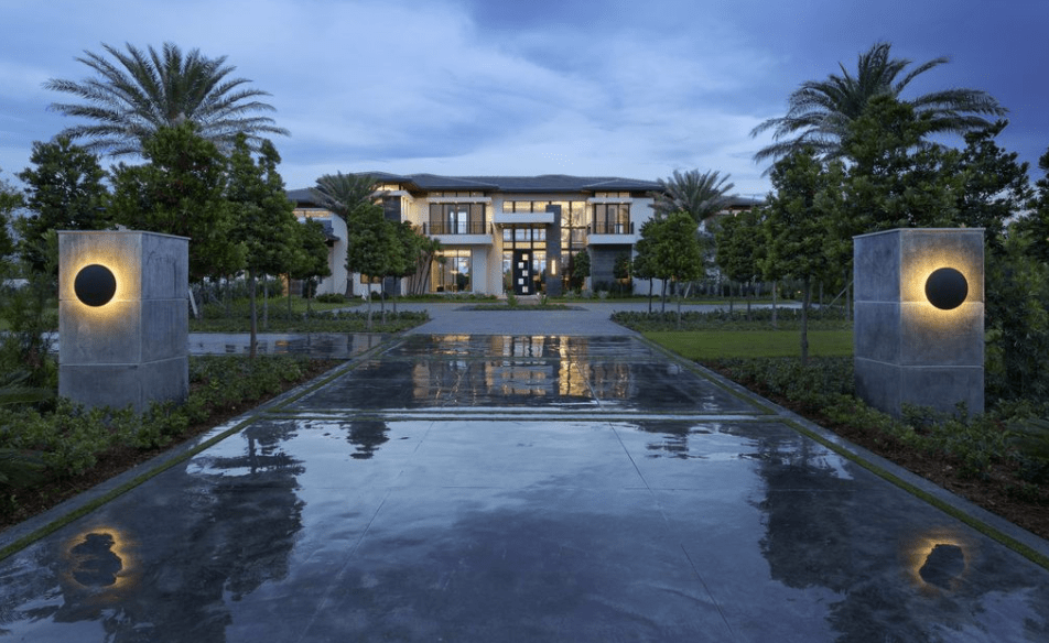 159 Million Newly Built Waterfront Mansion In Delray