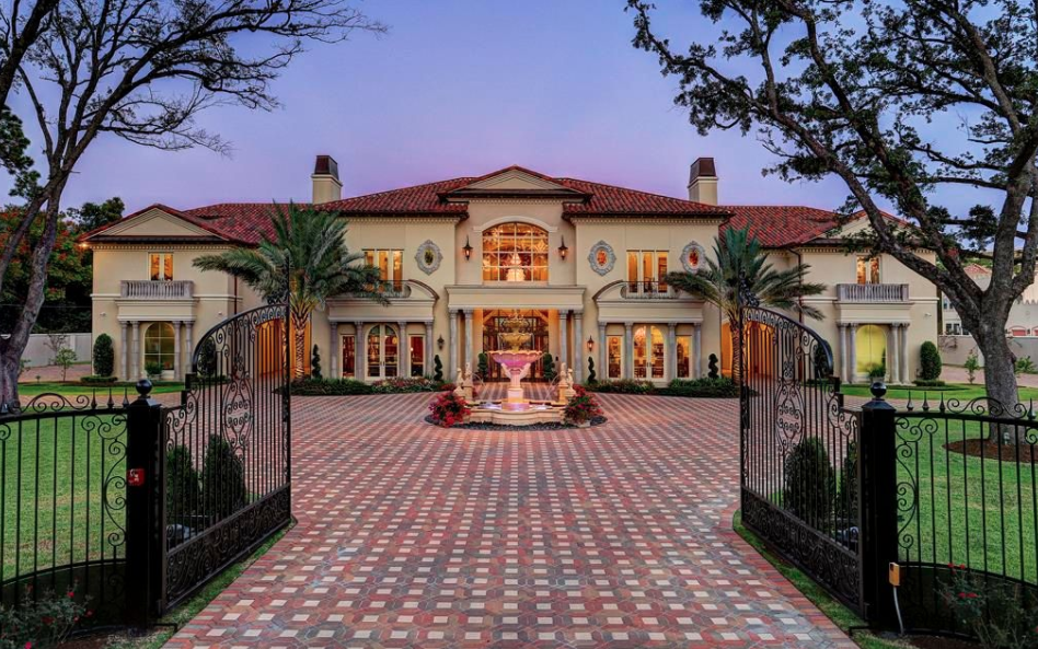 Grand Newly Built Mansion In Houston Texas  Homes of the
