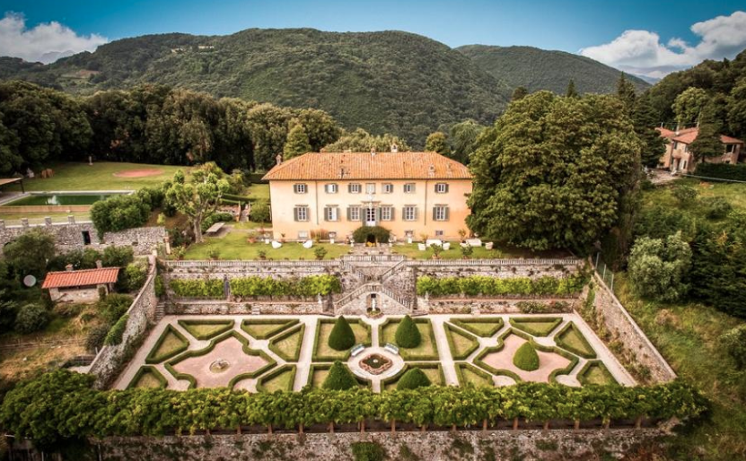 Historic Hilltop Villa In Tuscany Italy  Homes of the Rich