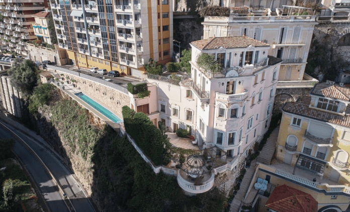 Exceptional Villa In Monaco With Sea Views  Homes of the Rich
