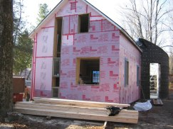 Home retrofitted for LEED Canada for Homes certification