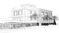Certified passive house addition, Dufferin Residence