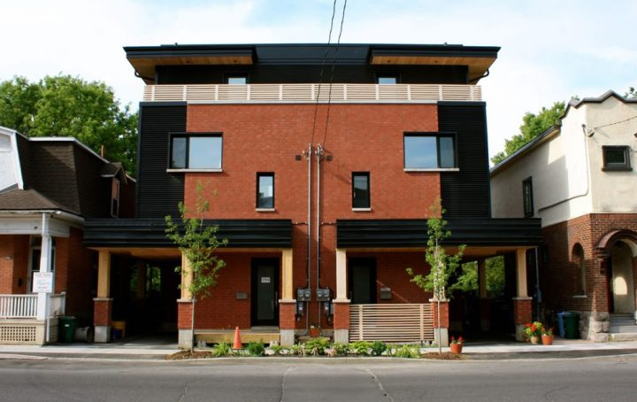 Ottawa passive house, Rideau residence