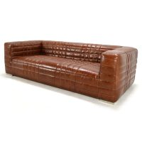 Cagney Leather Sofa - Home Source Furniture