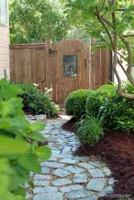 Affordable front yard walkway landscaping ideas (1)