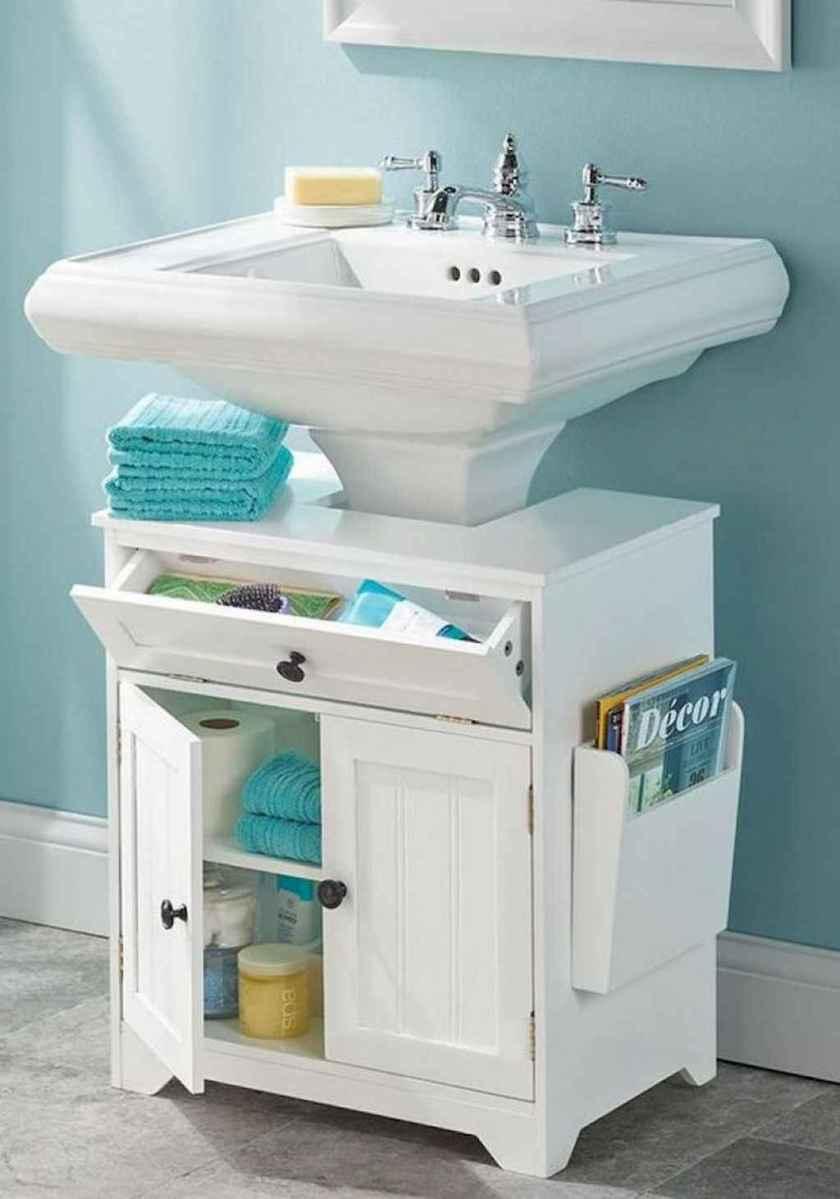 Clever organizing ideas bathroom storage cabinet (28)