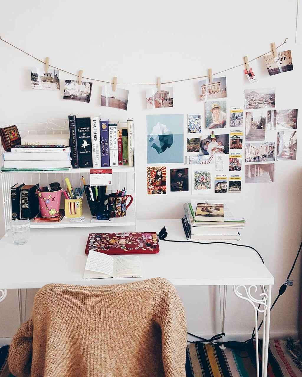 Cute diy dorm room decorating ideas on a budget (41)