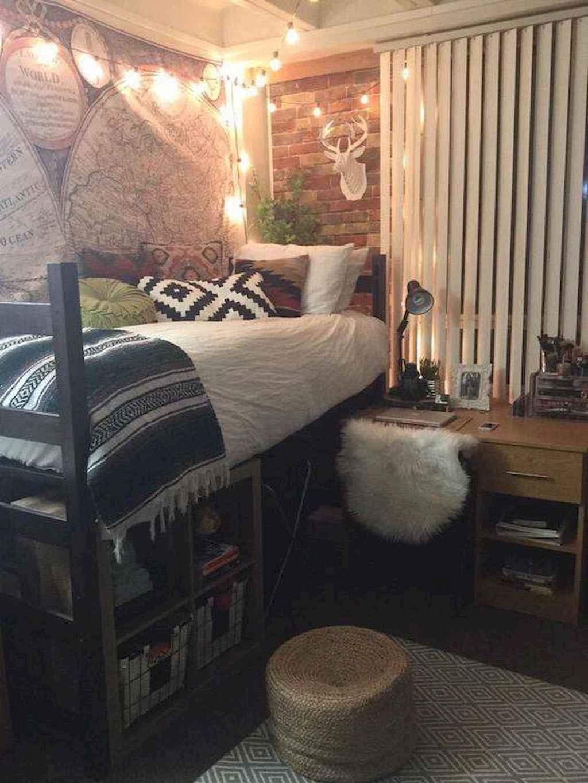 Cute diy dorm room decorating ideas on a budget (63)