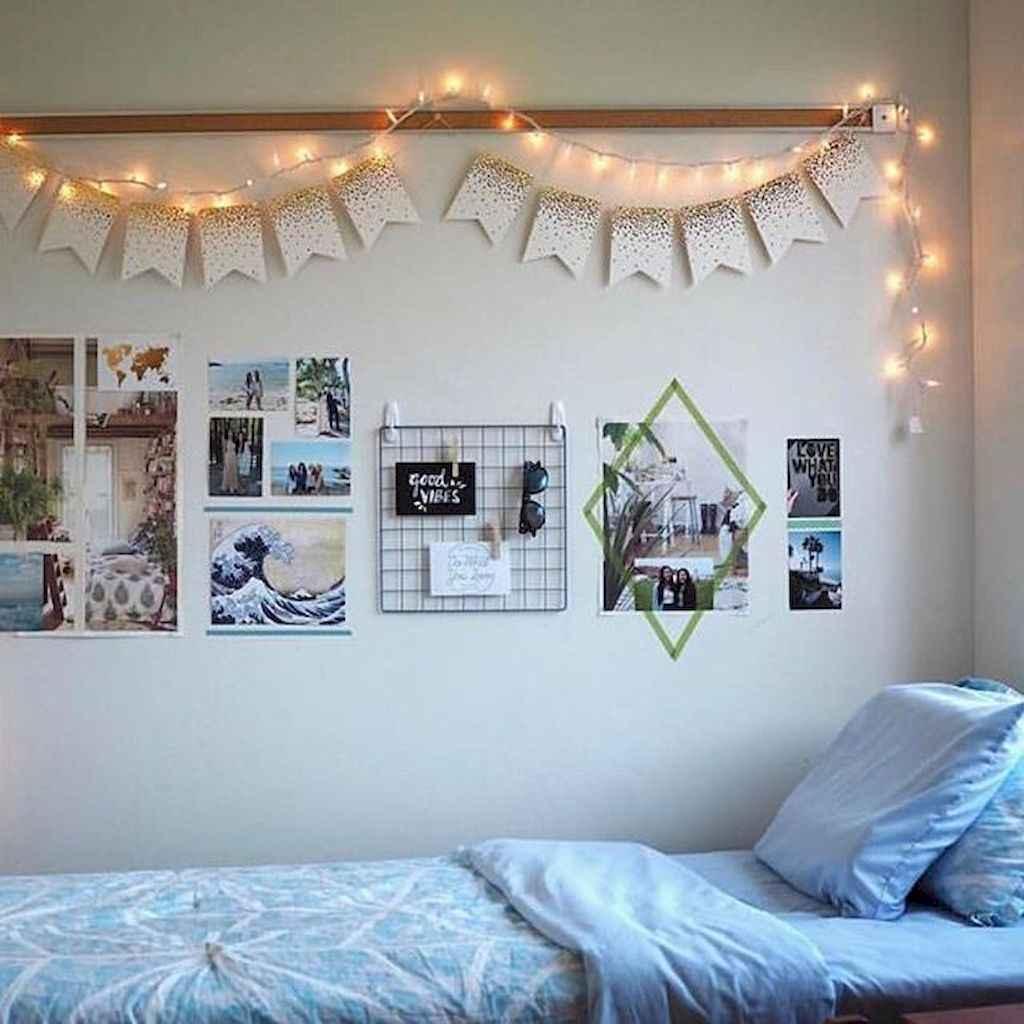 Cute diy dorm room decorating ideas on a budget (75)
