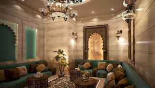 Fascinating moroccan vibe style living room for relaxing (46)