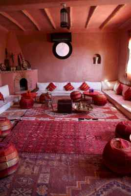 Fascinating moroccan vibe style living room for relaxing (70)