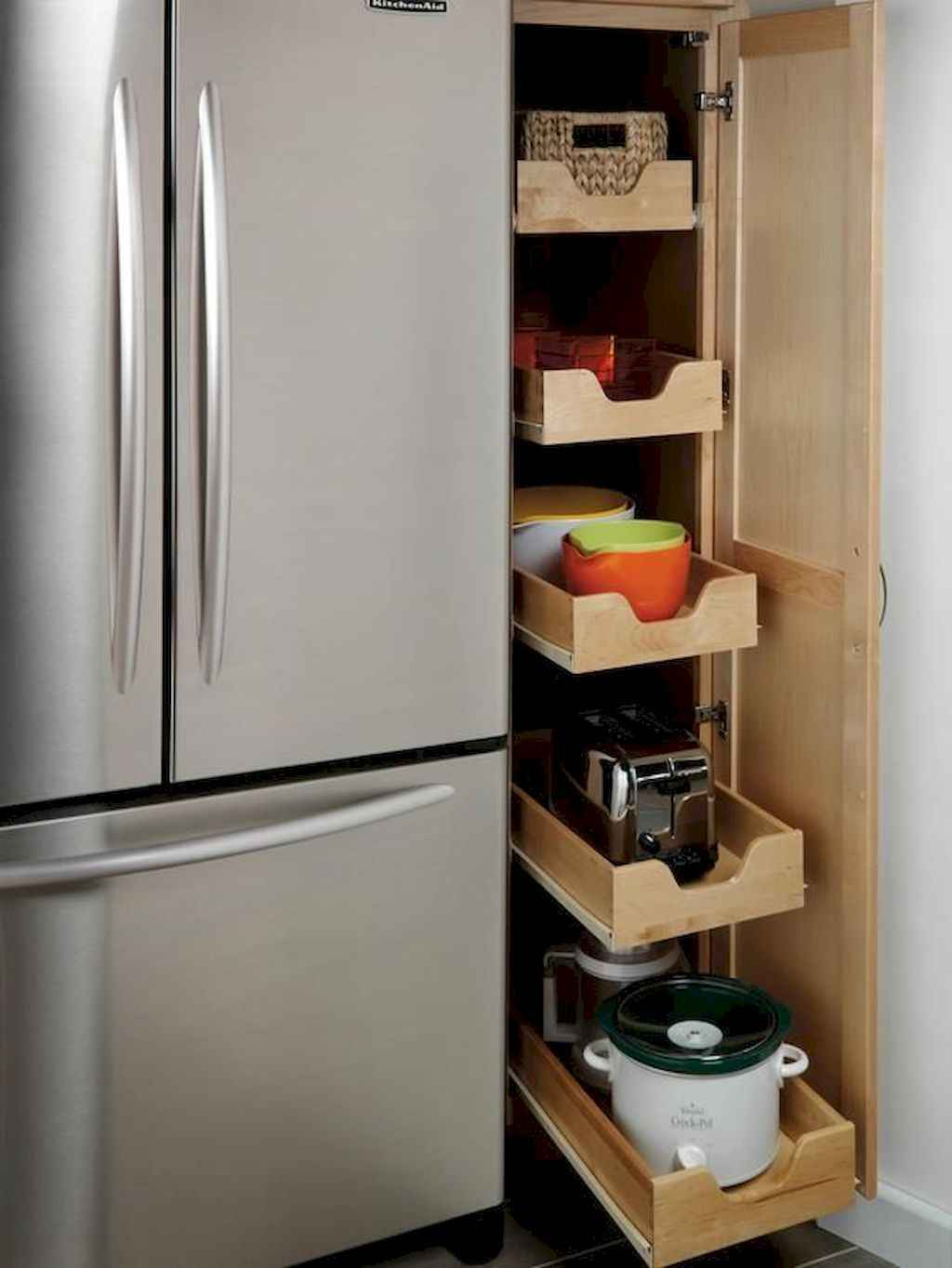 Ingenious hidden kitchen cabinet & storage solutions (49)