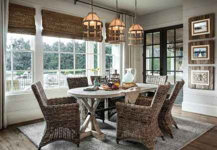 Lasting farmhouse dining room table and decorating ideas (26)