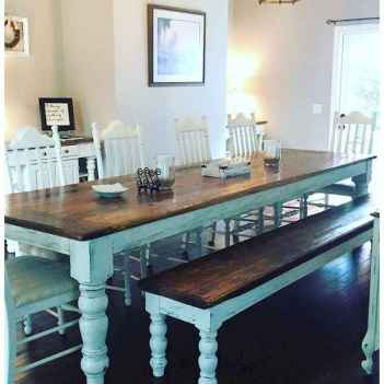 Lasting farmhouse dining room table and decorating ideas (57)