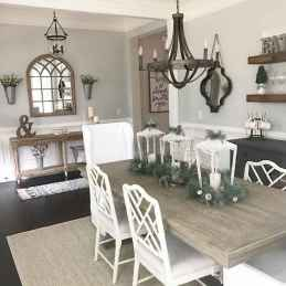 Lasting farmhouse dining room table and decorating ideas (63)