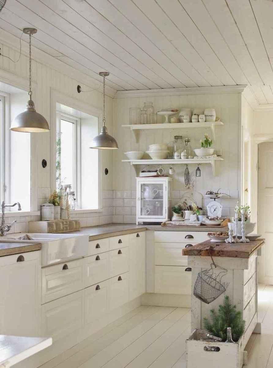 Stunning farmhouse kitchen design and decor ideas (33)