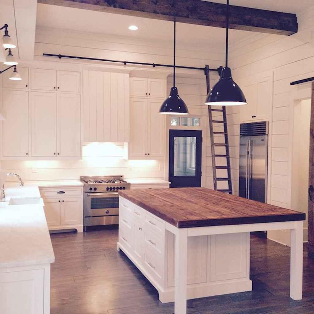 Stunning farmhouse kitchen design and decor ideas (5)