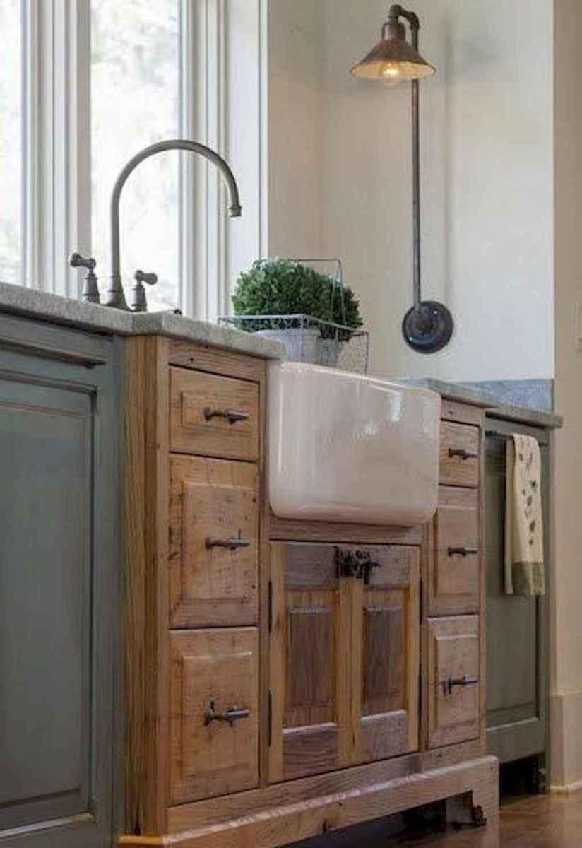 Stunning farmhouse kitchen design and decor ideas (52)