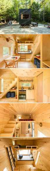 Tiny house bus designs and decorating ideas (118)