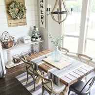 Beautiful french country dining room design and decor ideas (19)