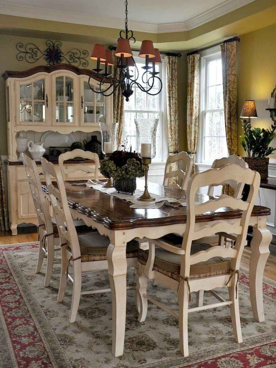 Beautiful french country dining room design and decor ideas (3)