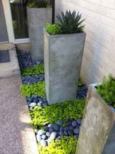 Beautiful front yard rock garden landscaping ideas (11)