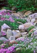 Beautiful front yard rock garden landscaping ideas (23)