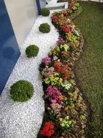 Beautiful front yard rock garden landscaping ideas (44)
